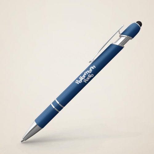 5 Soft-Touch Kugelschreiber