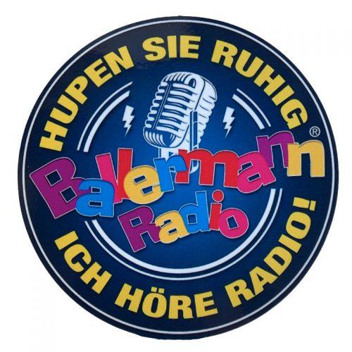 Ballermann Radio (Auto) Aufkleber