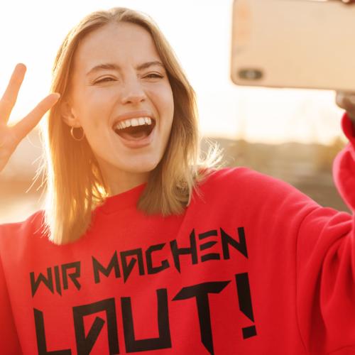 Wir Machen Laut (Sweatshirt/Frauen)