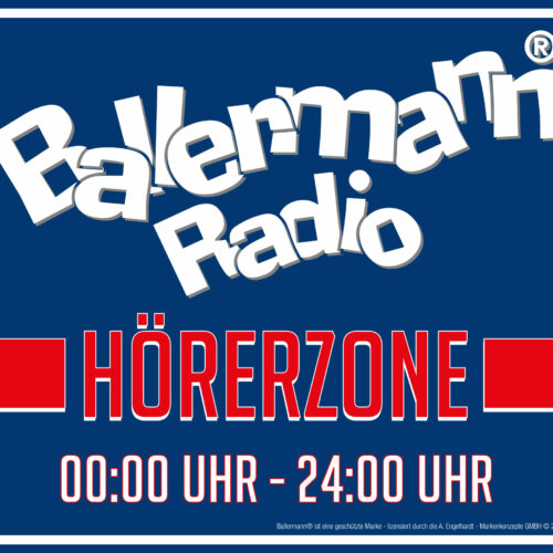 Ballermann Radio Hörerzone