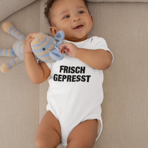 Babybody: Frisch Gepresst