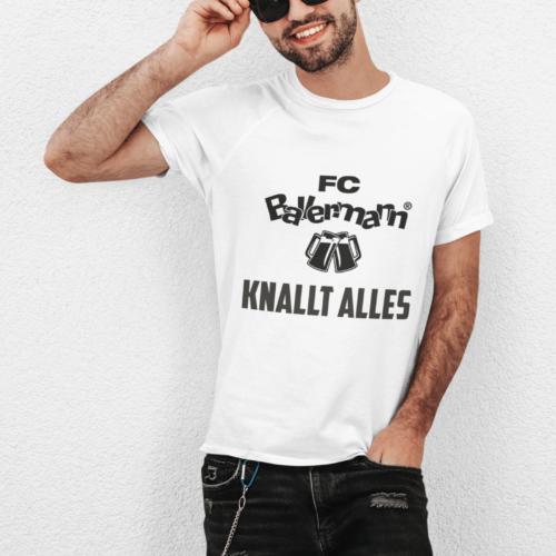 FC Ballermann Knallt Alles (T-Shirt/Männer)
