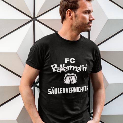 FC Ballermann Säulenvernichter (T-Shirt/Männer)
