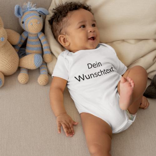 Babybody: Dein Wunschtext (individuell)